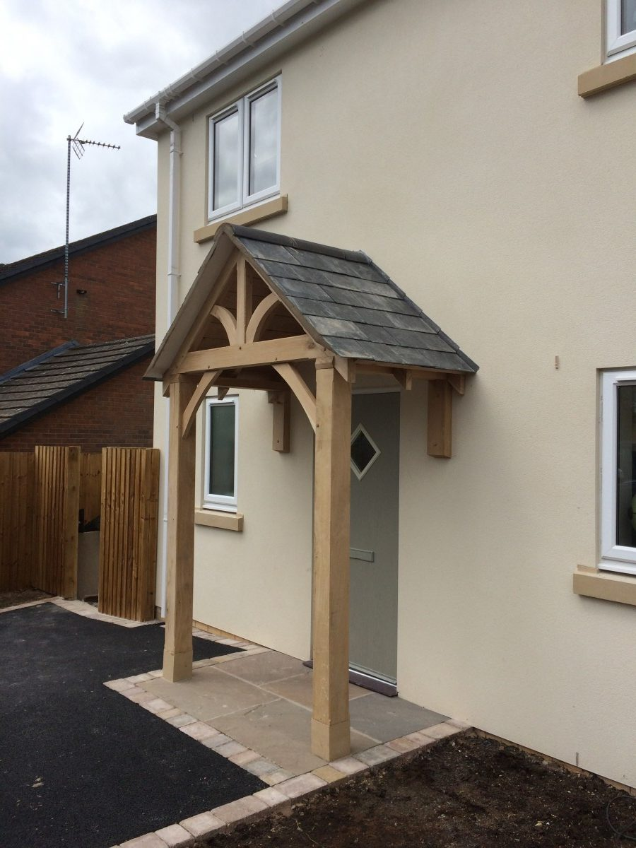 Grosvenor Oak Porch Shropshire Door Canopies