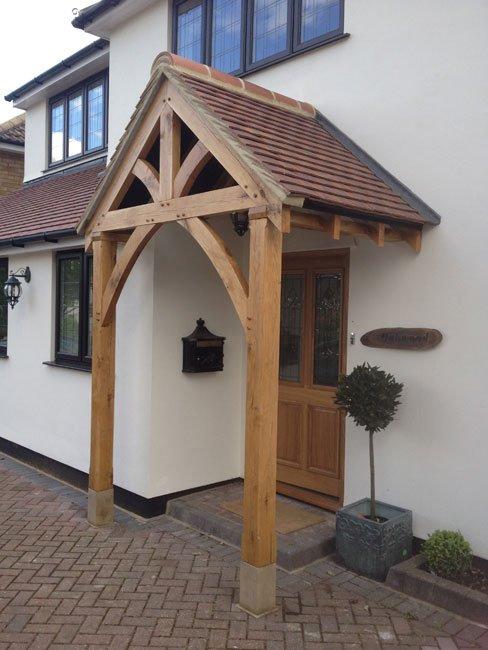 grosvenor oak porch shropshire door canopies. Black Bedroom Furniture Sets. Home Design Ideas