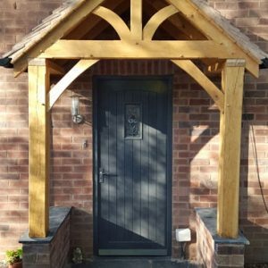 Top quality porches and door canopies in Oak and Redwood & Shropshire Door Canopies - Top Quality Handmade Porches and Door ...