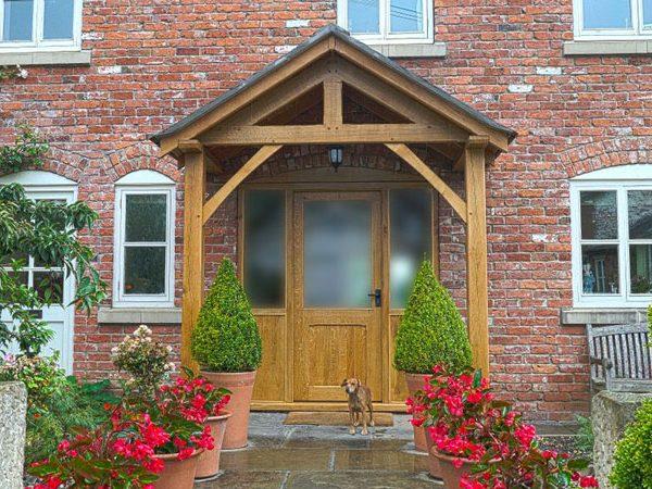 Westminster Oak Porch
