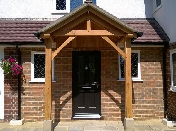 Westminster Oak Porch & Westminster Oak Porch - Shropshire Door Canopies Pezcame.Com