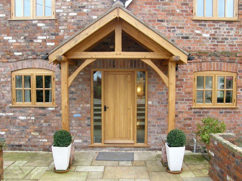 Westminster Oak Porch & Westminster Oak Porch - Shropshire Door Canopies