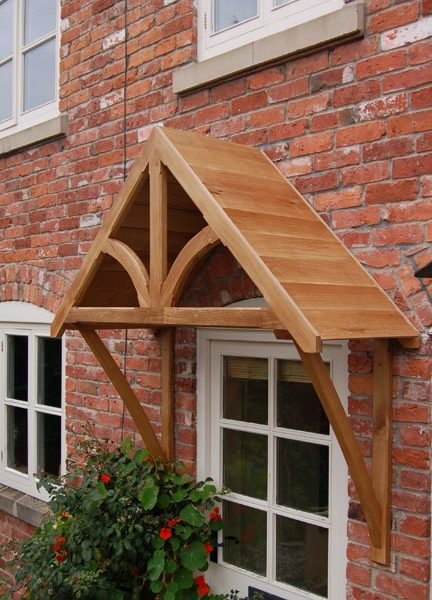 Blakemere oak door canopy shropshire door canopies for 1200mm front door