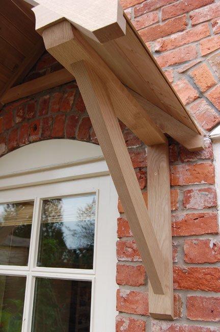 Crossmere Oak Door Canopy Shropshire Door Canopies
