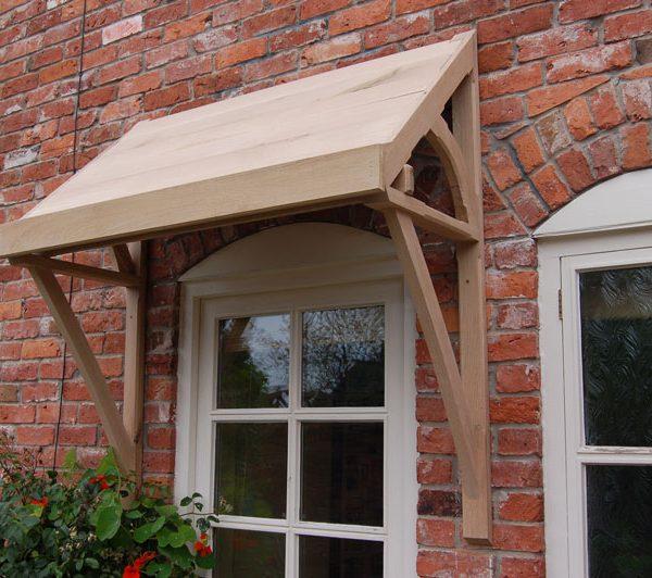 Ellesmere Oak Door Canopy & Ellesmere Oak Door Canopy - Shropshire Door Canopies